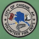 Chignik Alaska Fire Rescue Patch