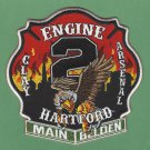 Hartford Fire Department Engine Company 2 Fire Patch
