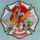 Baltimore City Fire Department Engine 41 Engine 50 Truck 20 Fire Company Patch