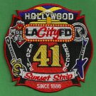 Los Angeles City Fire Department Engine Company 41 Fire Patch