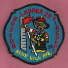Boston Fire Department Ladder Company 29 Patch