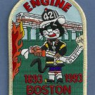 Boston Fire Department Engine Company 42 Fire Patch