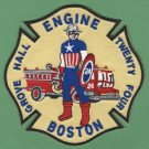 Boston Fire Department Engine Company 24 Fire Patch