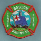 Boston Fire Department Engine Company 50 Fire Patch