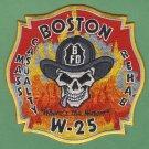 Boston Fire Department Wagon Company 25 Patch