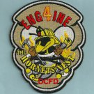 District of Columbia Fire Department Engine Company 4 Fire Patch
