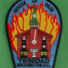 District of Columbia Fire Department Engine 10 Truck 13 Fire Company Patch