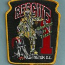District of Columbia Fire Department Rescue Company 1 Fire Patch