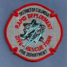 District of Columbia Fire Department Dive Team Patch