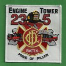 Chicago Fire Department Engine 23 Tower Ladder 5 Fire Company Patch