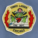 Chicago Fire Department Tower Ladder Company 39 Patch