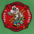 Chicago Fire Department Truck Company 7 Patch