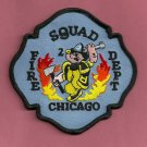 Chicago Fire Department Squad Company 2 Fire Patch