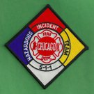 Chicago Fire Department Hazardous Materials Response Team Patch