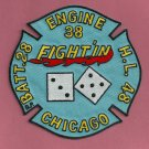 Chicago Fire Department Engine 38 Truck 48 Fire Company Patch