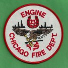 Chicago Fire Department Engine Company 13 Fire Patch