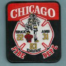Chicago Fire Department Engine 83 Truck 22 Fire Company Patch