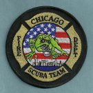 Chicago Fire Department Dive Rescue Team Patch