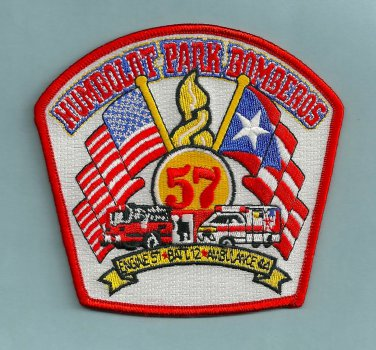 Chicago Fire Department Engine Company 57 Fire Patch