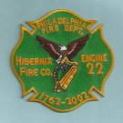 Philadelphia Fire Department Engine Company 22 Patch