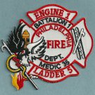 Philadelphia Fire Department Engine 1 Ladder 5 Company Patch