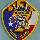 Houston Fire Department Station 7 Company Patch