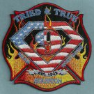 Houston Fire Department Station 9 Company Patch