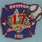 Houston Fire Department Station 17 Company Patch