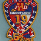 Houston Fire Department Station 19 Company Patch