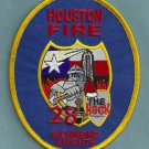 Houston Fire Department Station 28 Company Patch