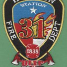 Houston Fire Department Station 31 Company Patch