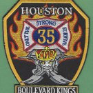Houston Fire Department Station 35 Company Patch
