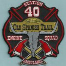 Houston Fire Department Engine 40 Medic 40 Company Patch