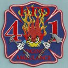 Houston Fire Department Engine Company 41 Patch
