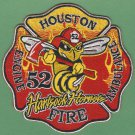 Houston Fire Department Engine Company 52 Patch
