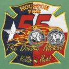 Houston Fire Department Station 55 Company Patch