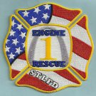 St. Louis Fire Department Engine Company 1 Patch