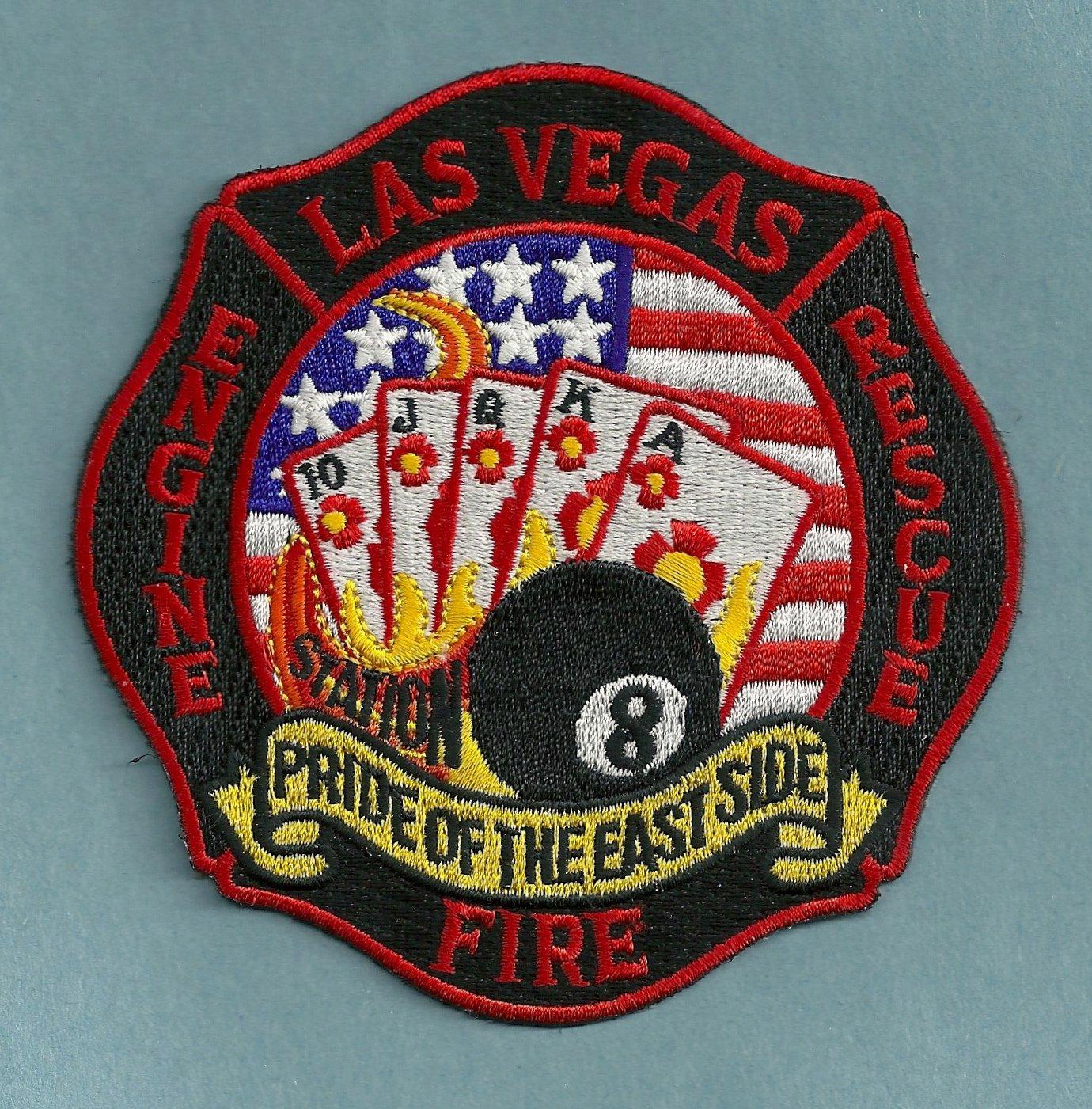 Las Vegas Fire Department Engine 8 Rescue 8 Company Patch