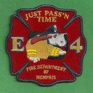 Memphis Fire Department Engine Company 4 Patch
