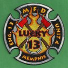 Memphis Fire Department Engine Company 13 Patch