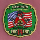 Memphis Fire Department Engine Company 14 Patch