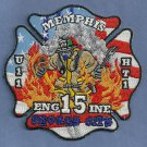 Memphis Fire Department Engine Company 15 Patch