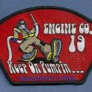Memphis Fire Department Engine Company 19 Patch