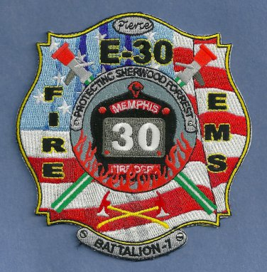 Memphis Fire Department Engine Company 30 Patch