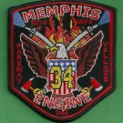 Memphis Fire Department Engine Company 35 Patch