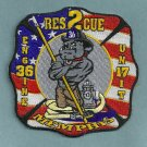 Memphis Fire Department Engine 36 Rescue 2 Company Patch