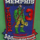 Memphis Fire Department Truck Company 3 Patch
