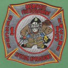 Memphis Fire Department Engine 13 Rescue 1 Company Patch