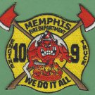 Memphis Fire Department Engine 10 Truck 9 Company Patch