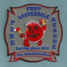 Fort Lauderdale Fire Department Administration Patch